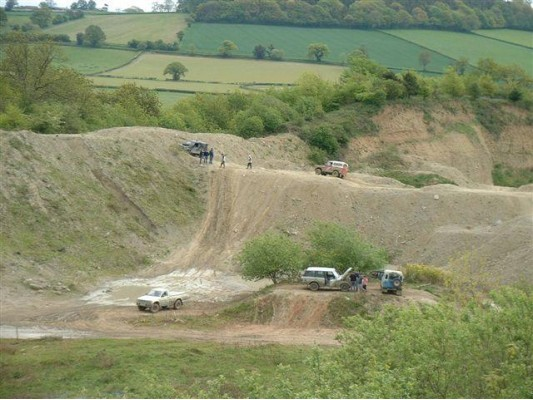 Off Road Day in Shewsbury