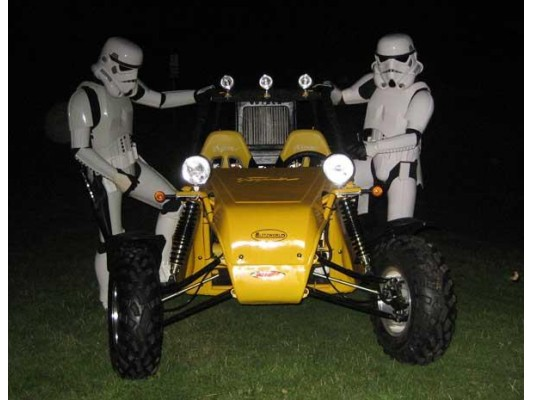 Howie Buggies & Storm Trooper