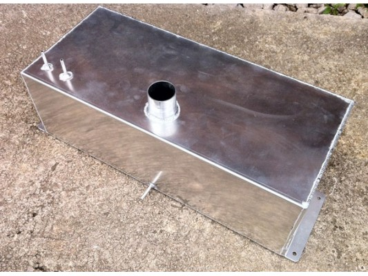 Vigilante - Aluminium petrol tank V2 (upgrade)