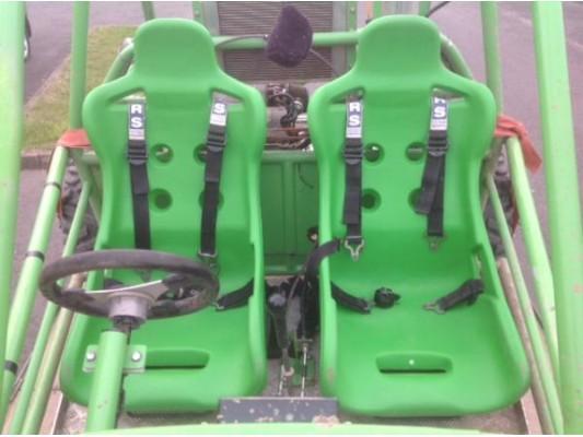 Vigilante Plastic Bucket Seats