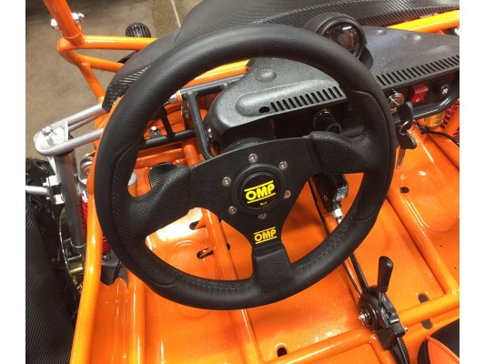 OMP Steering Wheel & fixing kit